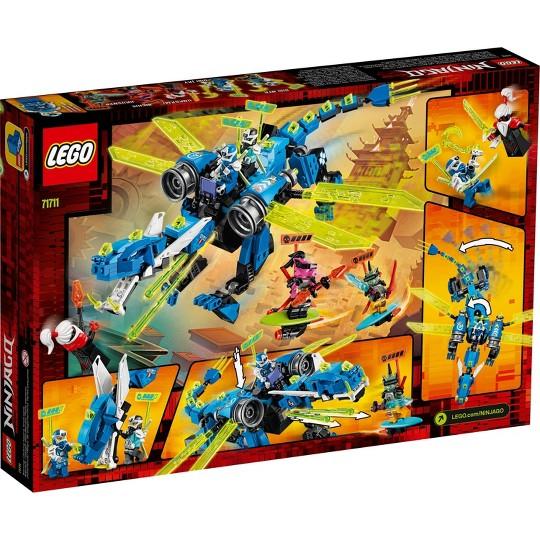 LEGO NINJAGO Jay's Cyber Dragon Ninja Building Set 71711 image number null