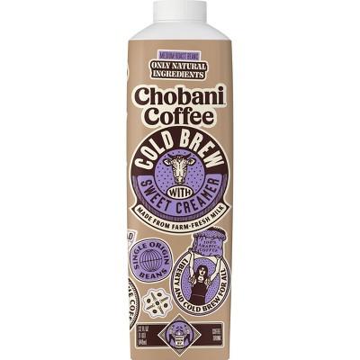 Chobani Coffee Cold Brew with Sweet Creamer - 32 fl oz