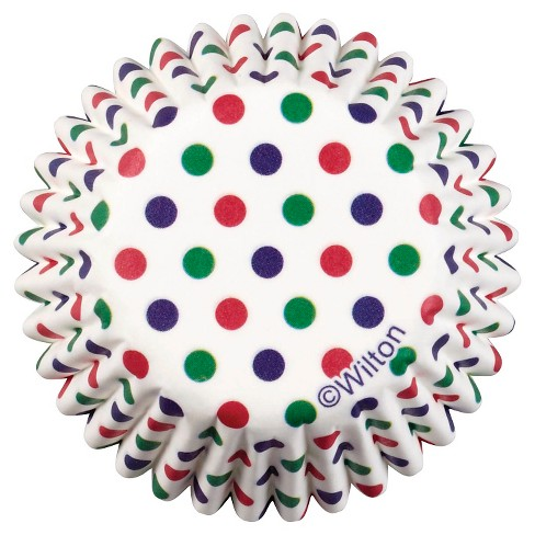 Wilton 100 ct Dots Mini Baking Cup Liner - image 1 of 3