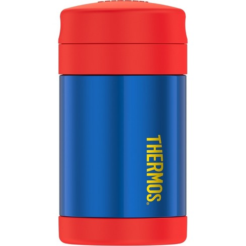 Thermos 16oz Funtainer Food Jar - Blue/Red - image 1 of 5