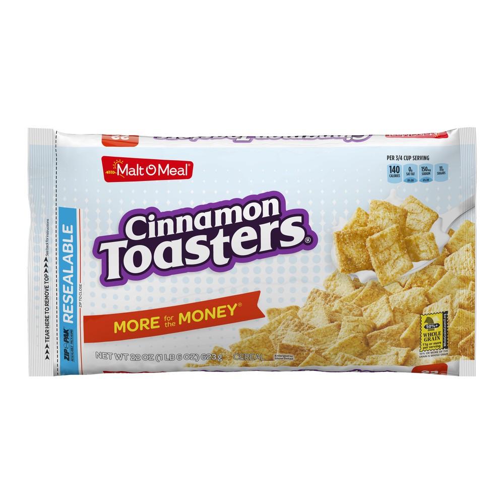 Cinnamon Toasters Breakfast Cereal - 22oz - Malt-O-Meal Cinnamon Toasters Breakfast Cereal - 22oz - Malt-O-Meal Age Group: Kids.