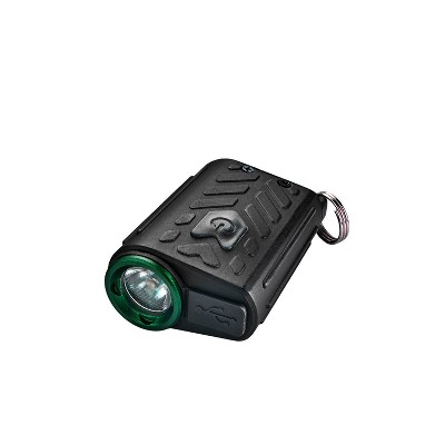 Police Security Flashlights 150 Lumens Seeker Rechargeable Keychain LED Flashlight