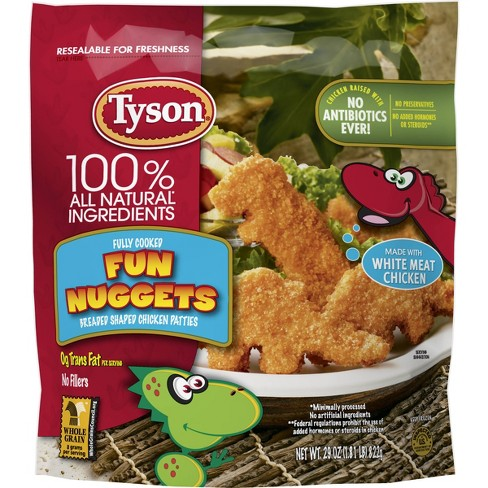 Tyson All Natural White Meat Fun Nuggets - Frozen - 29oz - image 1 of 4