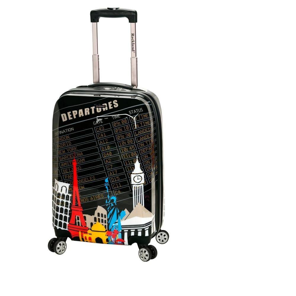 Rockland Vegas 20 Polycarbonate Suitcase Departure - Black