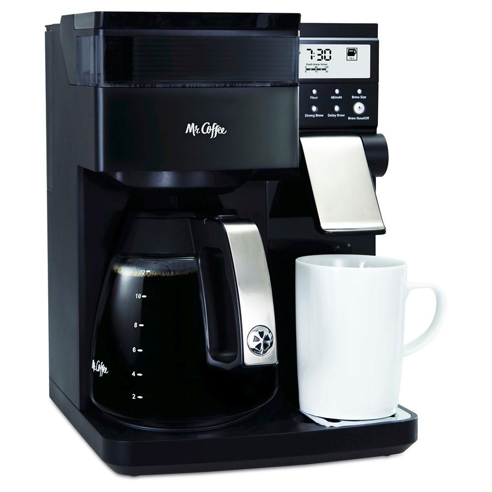 Mr. Coffee Perfect Choice Coffee Maker, 12 Cup programmable, Bvmc-PCX85, Black