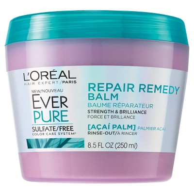 L'oreal Paris Ever Pure Sulfate Free Repair Remedy Balm   8.5  Fl Oz by 8.5  Fl Oz