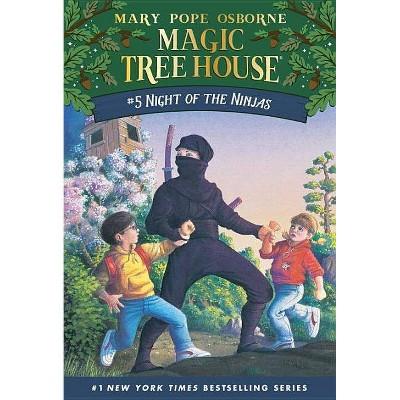 Night of the Ninjas (Magic Tree House Book 5) (Paperback)(Mary Pope Osborne)