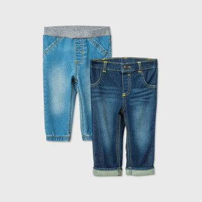 Baby Boys' Jeans - Cat & Jack™ Blue 0-3M