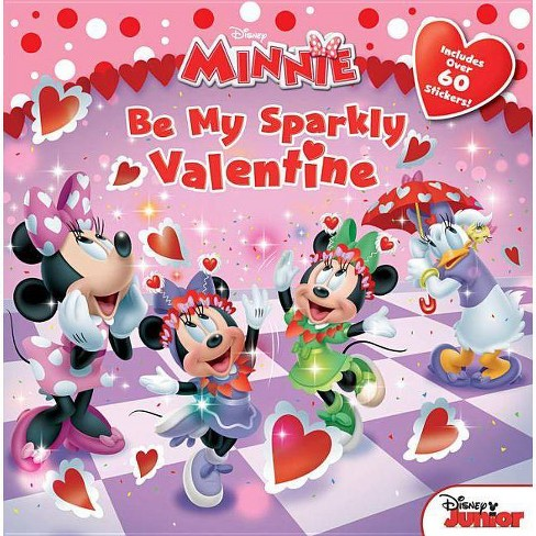 Be My Sparkly Valentine ( Minnie) (Paperback) by Bill Scollon - image 1 of 1