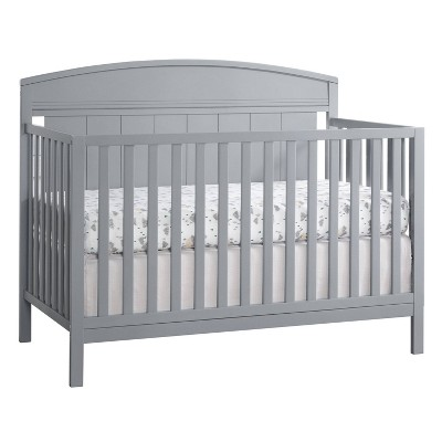 Baldwin 4-in-1 Convertible Crib - Dove Gray
