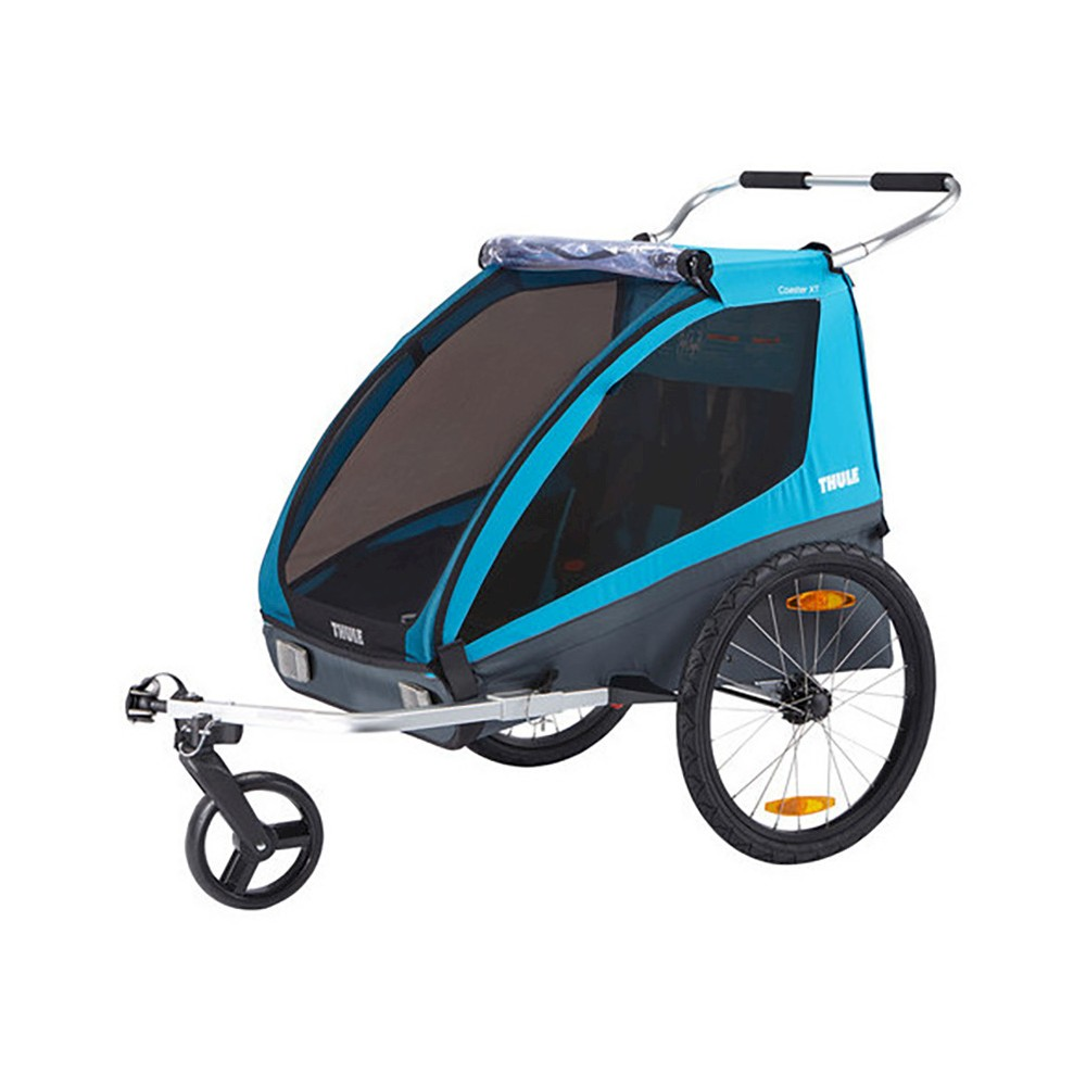 Image of Thule Coaster XT Bike Trailer Stroller, Blue