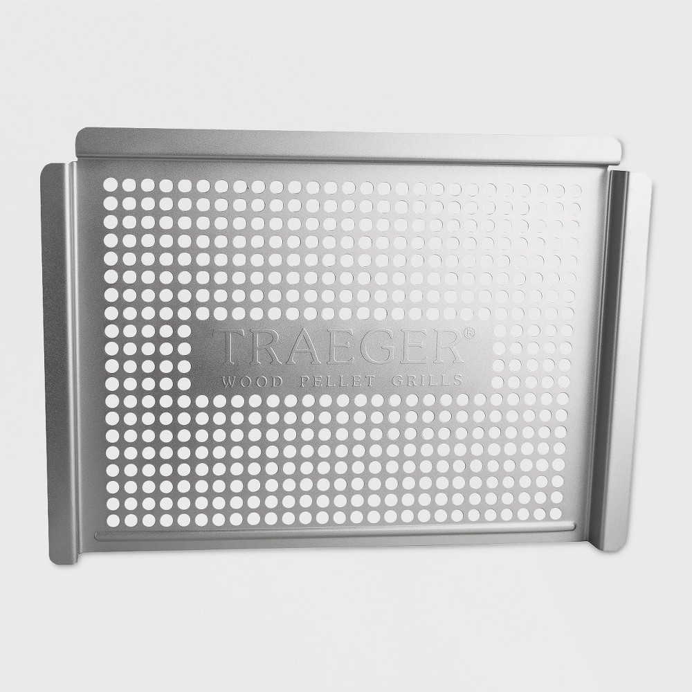 Traeger Stainless Grill Basket, Silver 16993599