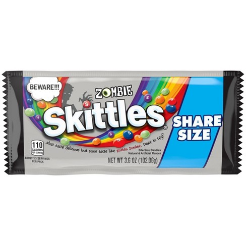Skittles Halloween Zombie Share Size Candies - 3.6oz - image 1 of 1