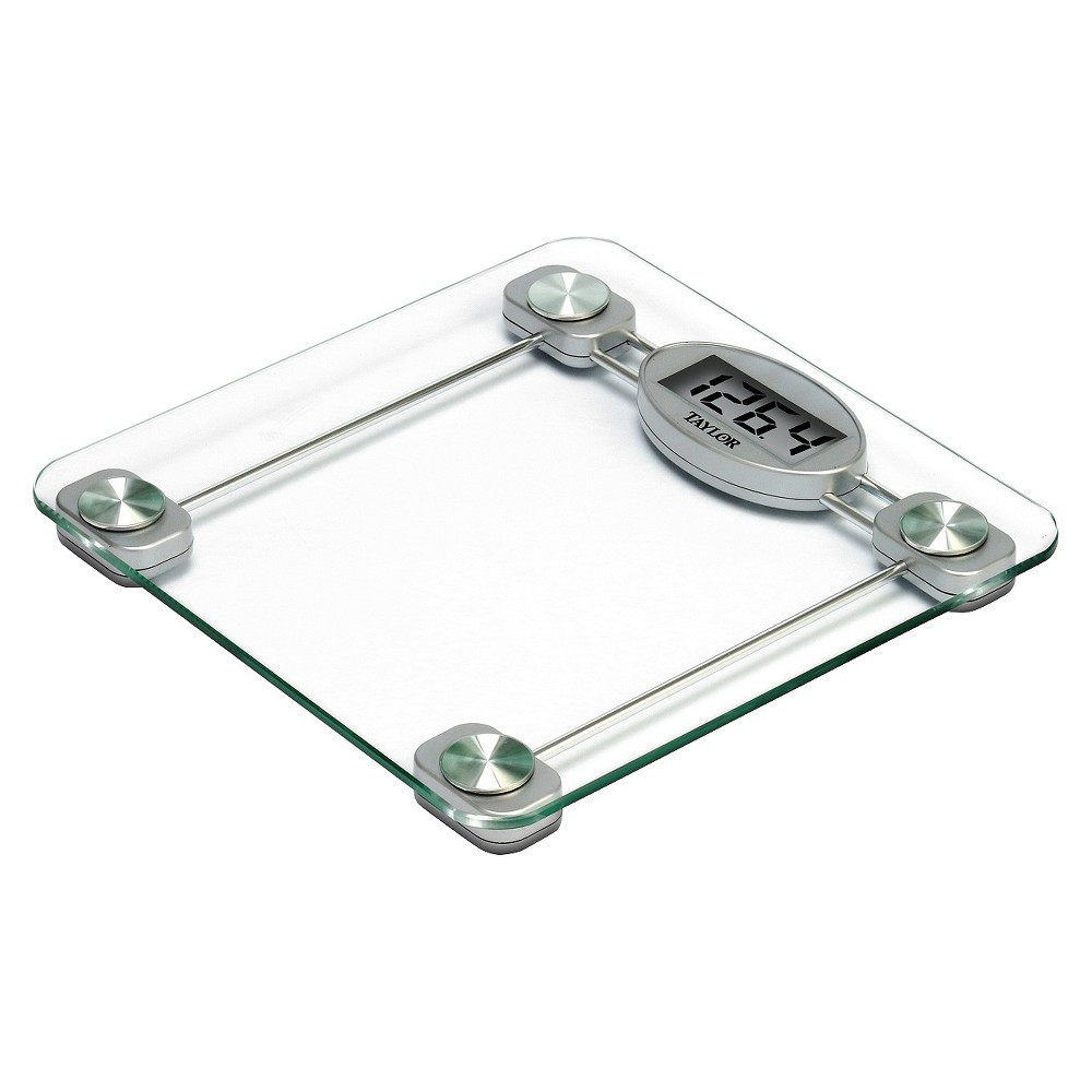 Digital Glass Scale Clear/Silver - Taylor