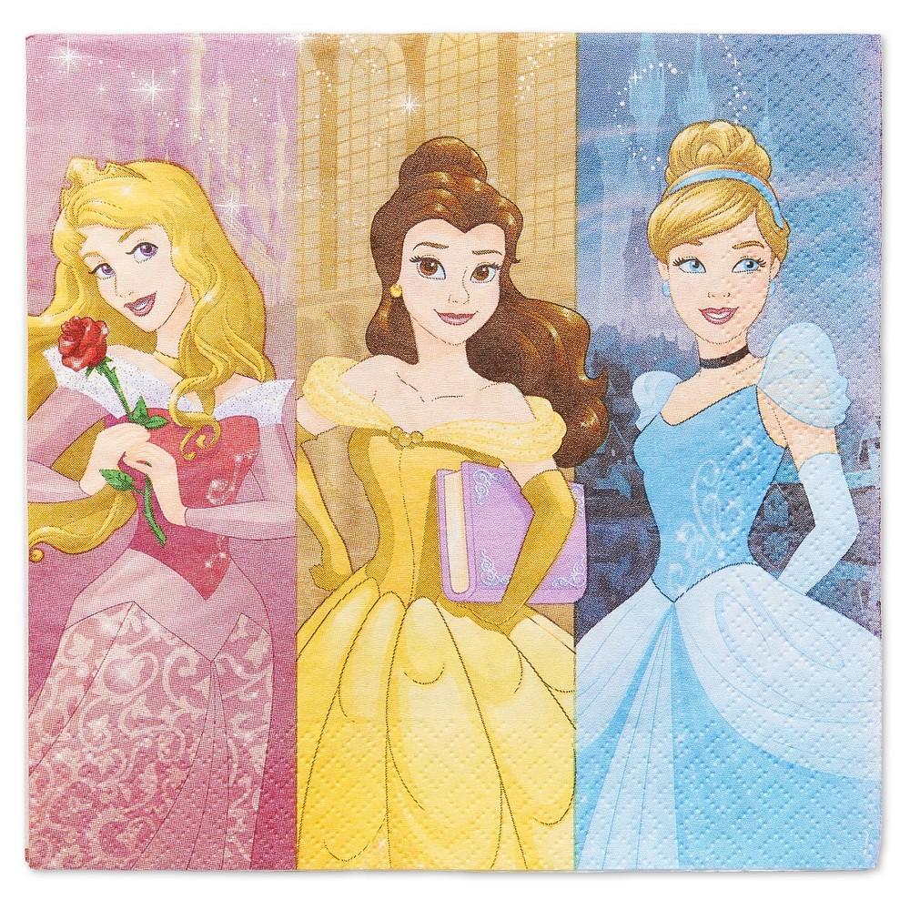 Image of 16 ct Disney Princess Napkin