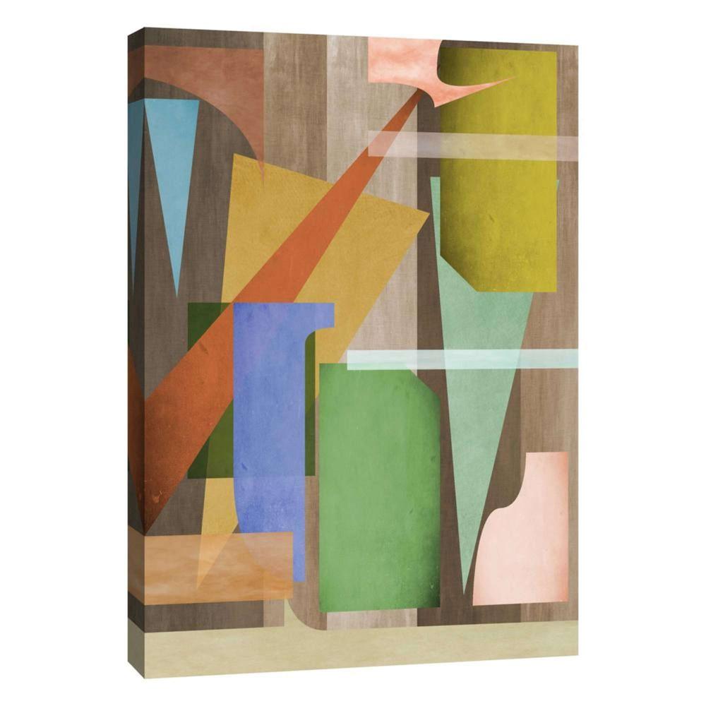 Messy Shapes Decorative Canvas Wall Art 11