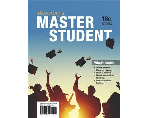 Becoming a Master Student (Paperback) (Dave Ellis) - image 1 of 1