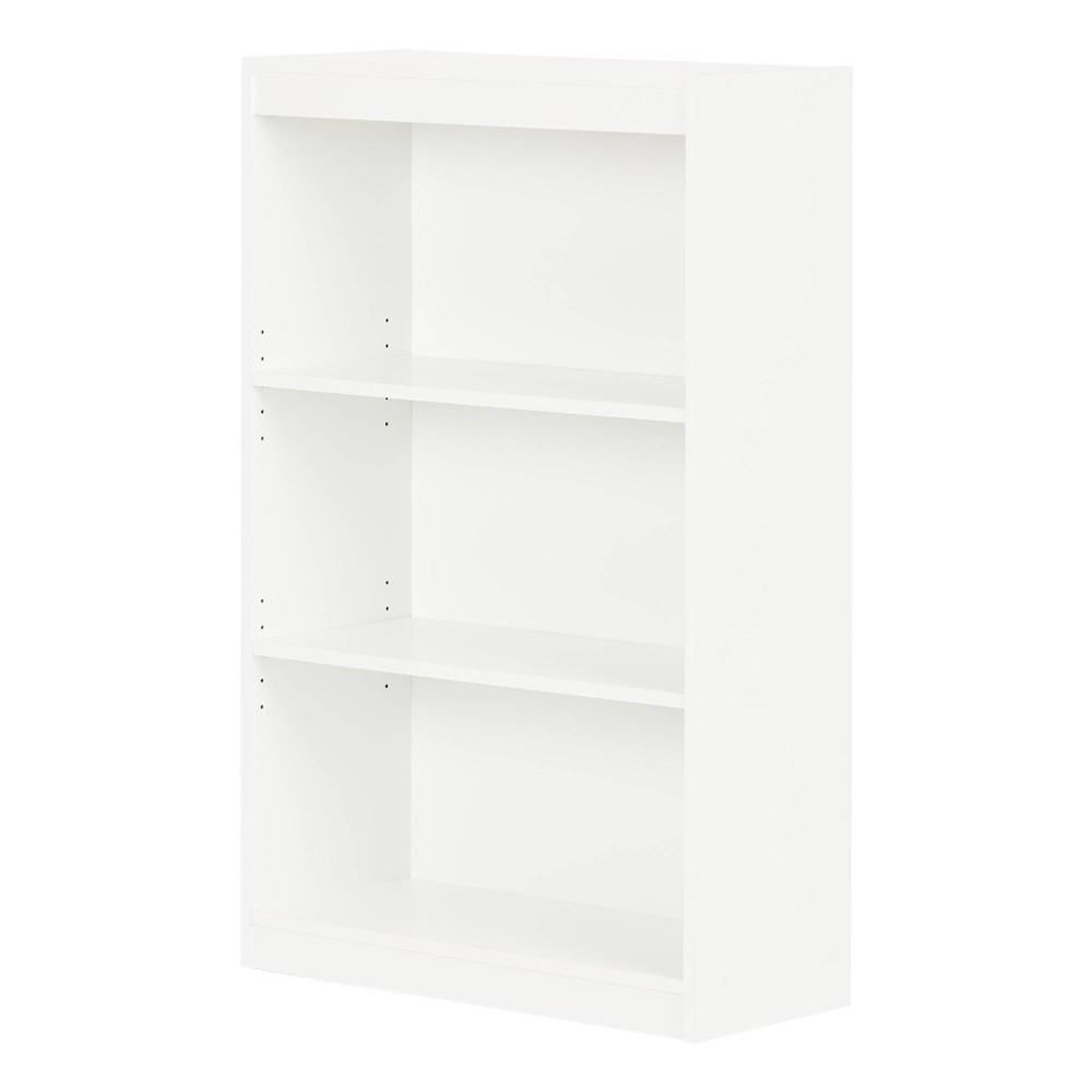 "Image of ""45"""" 3 Shelf Pasadena Bookcase Pure White - South Shore"""