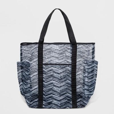 Soft Mesh Tote Bag - Mossimo Supply Co.™ Black/White