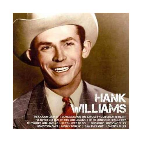 Hank Williams - Icon: Hank Williams (CD) - image 1 of 1