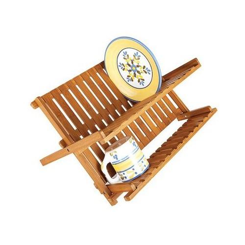 Lipper International Bamboo Dish Rack