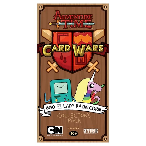 Adventure Time BMO vs Lady Rainicorn Card Wars Game Collector's Pack - image 1 of 1