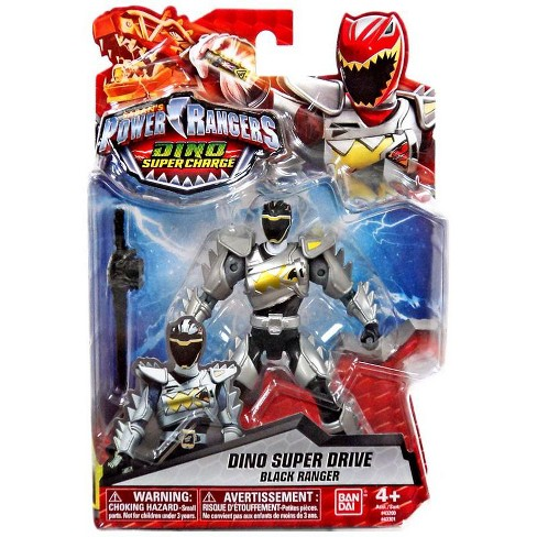 Power Rangers Dino Super Charge Dino Super Drive Black Ranger Action Figure - image 1 of 3