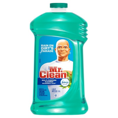Mr. Clean with Febreze Meadows and Rain Multi-Surface Cleaner - 40 fl oz
