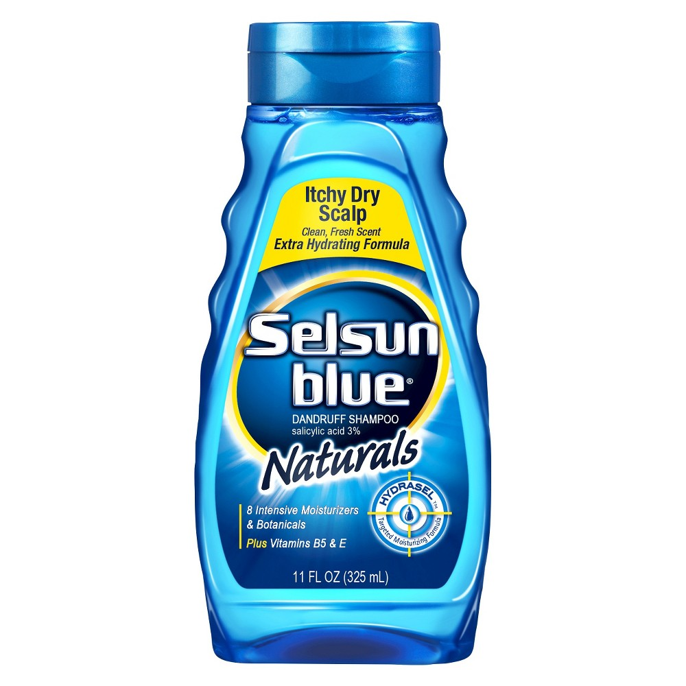 Image of Selsun Blue Naturals Itchy Dry Scalp Shampoo - 11 fl oz