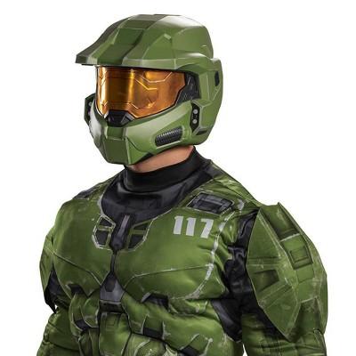 Adult Halo Infinite Master Chief Halloween Costume Helmet