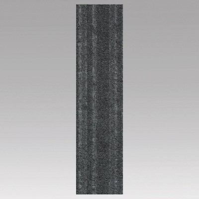 """9""""x36"""" 16pk Barcode Planks Self Stick Carpet Tile - Foss Floors"""