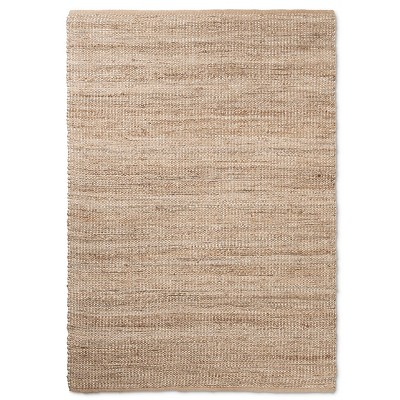 7'x10' Solid Area Rug Natural
