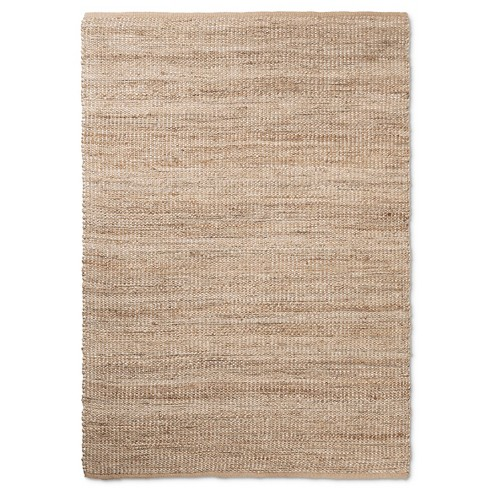 Area Rug Silver Lurex Natural - Threshold™ - image 1 of 3