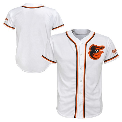 new styles acfdd 9a0c9 MLB Baltimore Orioles Boys' White Team Jersey : Target
