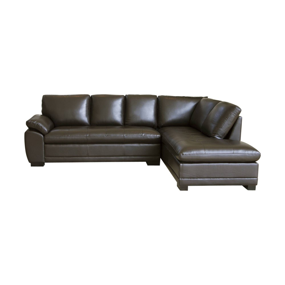 Terrific Prescott Sectional Sofa Abbyson Living Brown Caraccident5 Cool Chair Designs And Ideas Caraccident5Info