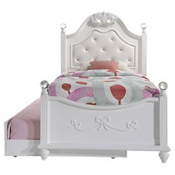 Annie Bed with Trundle - Twin - White - Picket House Furnishings
