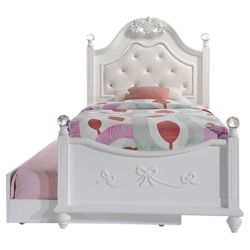 Annie Bed With Trundle Twin White Picket House Furnishings