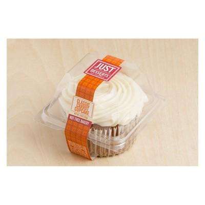 Just Desserts Classic Carrot Cupcake - 4.4oz