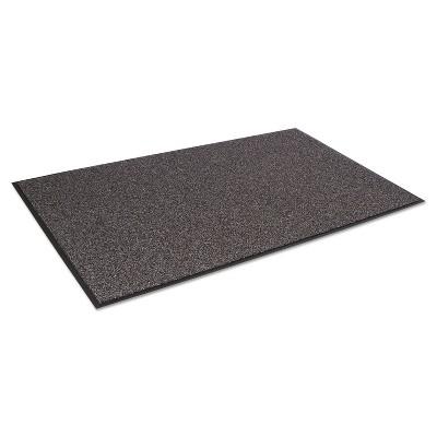 2'x3' Rectangle Solid Floor Mat Brown - Crown