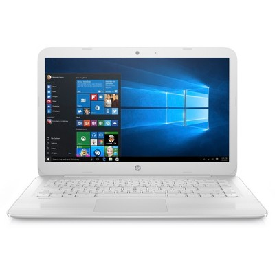 HP Stream Laptop 14-ax022nr - White (X7S49UA#ABA)