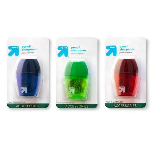 Pencil Sharpener 1 Hole 1ct Colors Vary - Up&Up™ - image 1 of 1