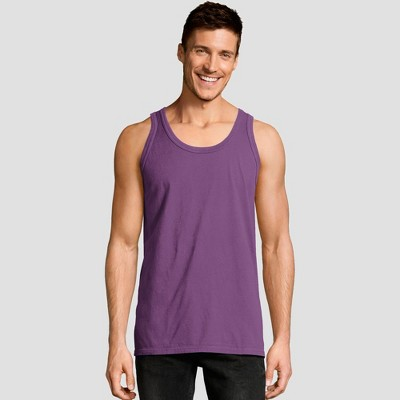 Hanes Men's 1901 Garment Dyed Tank Top