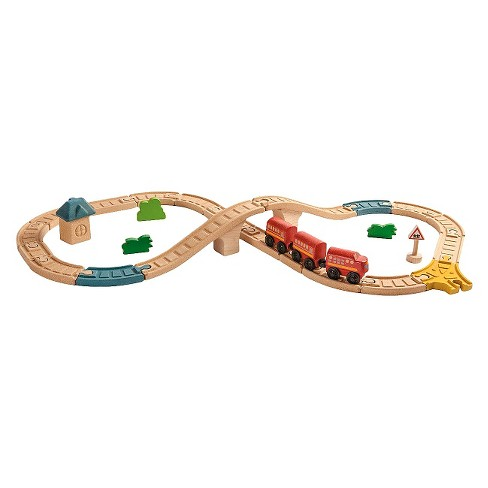 PlanToys® City Road And Rail Railway 8 Pc Figure Set - image 1 of 1