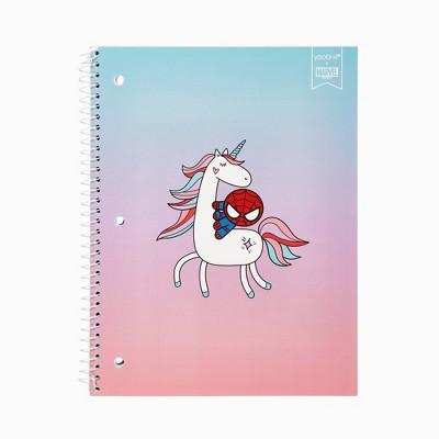 College Ruled 1 Subject Spiral Notebook Unicorn Spider-Man - Yoobi™
