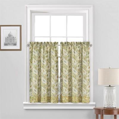 Paisley Verveine Window Tier - Waverly