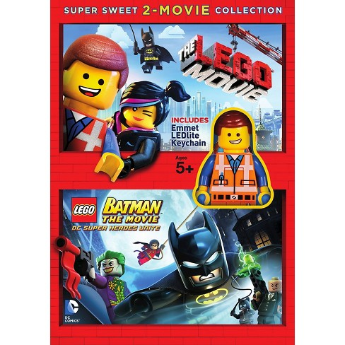 The Lego Movielego Batman The Movie 2 Discs Target