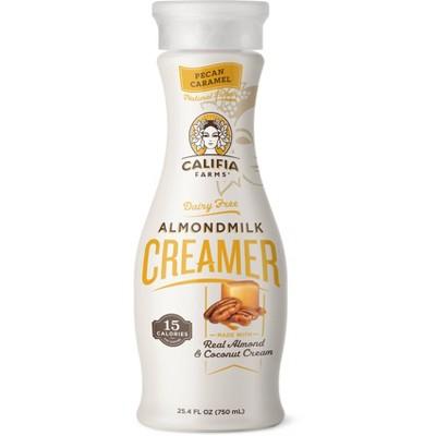 Califia Farms Dairy-Free Pecan Caramel Almond Milk Creamer - 25.4 fl oz
