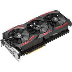 ASUS ROG Strix AMD Radeon RX Vega 64 Graphics Card  -  8GB 2048-bit HBM2 - Asus FanConnect II Cooling - 945 MHz clock - MaxContact Technology