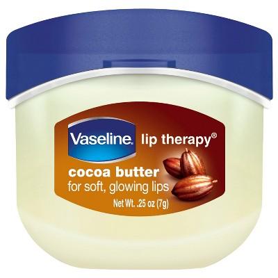 Vaseline Lip Therapy Cocoa Butter 0.25oz