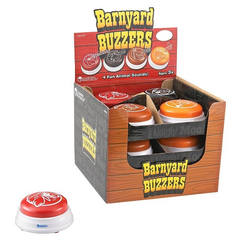 Barnyard Answer Buzzers, Set of 12 in Display - image 1 of 2